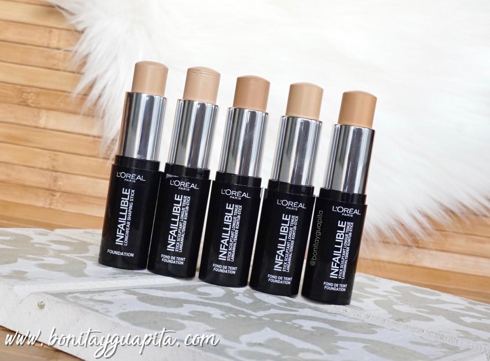 maquillaje Infalible Stick de L'Oréal