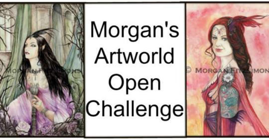 Morgan's Artworld Challenge Blog