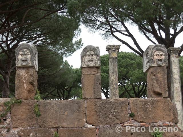 Teatro de Ostia Antica