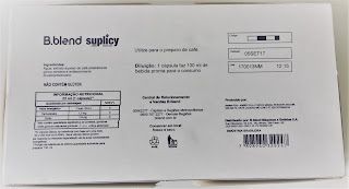 Verso caixa Brastemp B.blend Café Suplicy