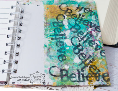 Prayer Journal by Tonya Gibbs for Yvonne Blair