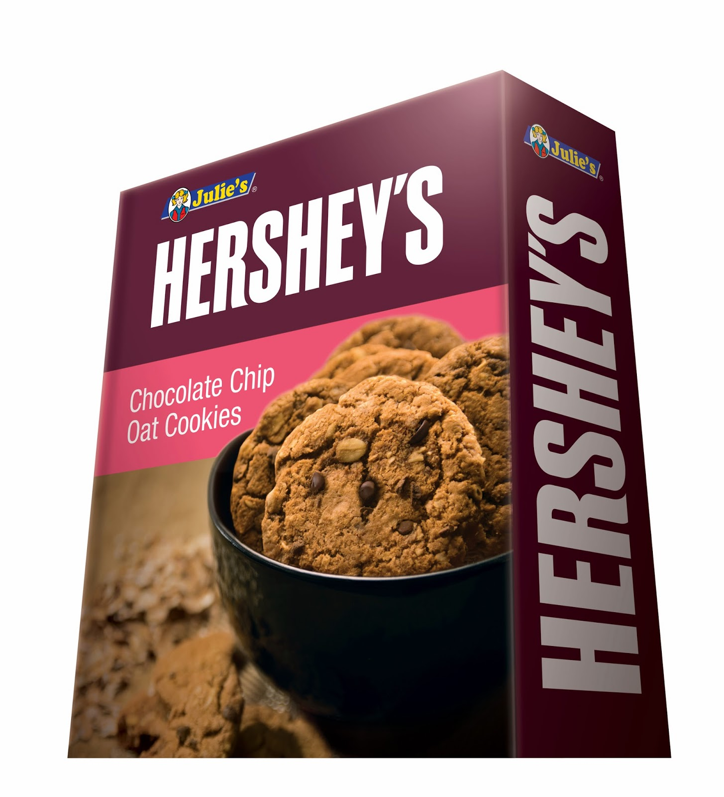 Julie's Hershey's Chocolate Chip Oat Cookies