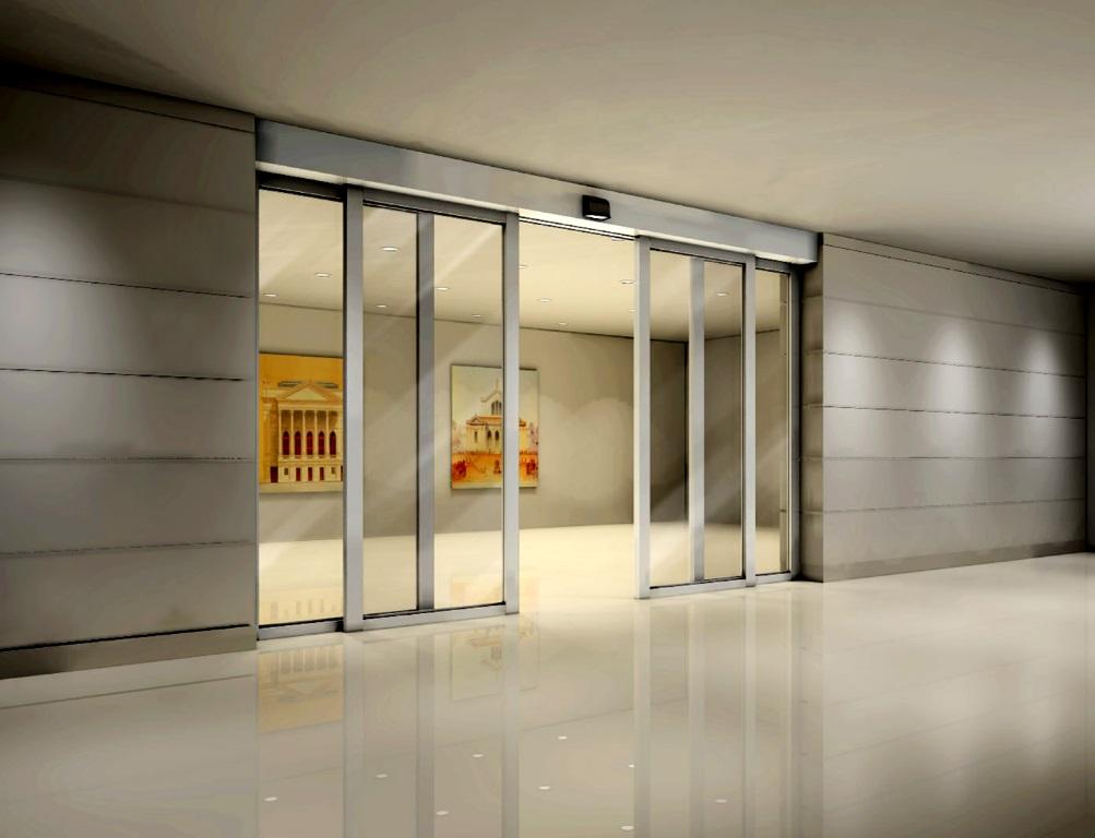 Automatic doors inspiring home decor