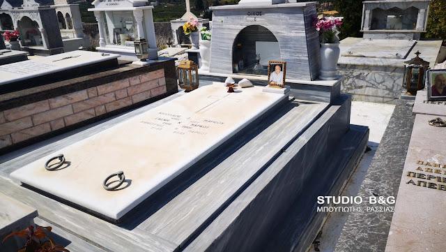 Λεηλάτησαν τα μπρούντζινα αντικείμενα από το κοιμητήριο των Λευκακίων στο Ναύπλιο (βίντεο)
