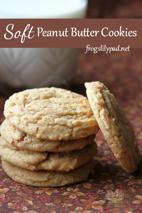 Fall in love with these Soft Peanut Butter Cookies recipe. You won't be disappointed and will know why my husband and son consider this the best recipe. frogslilypad.net