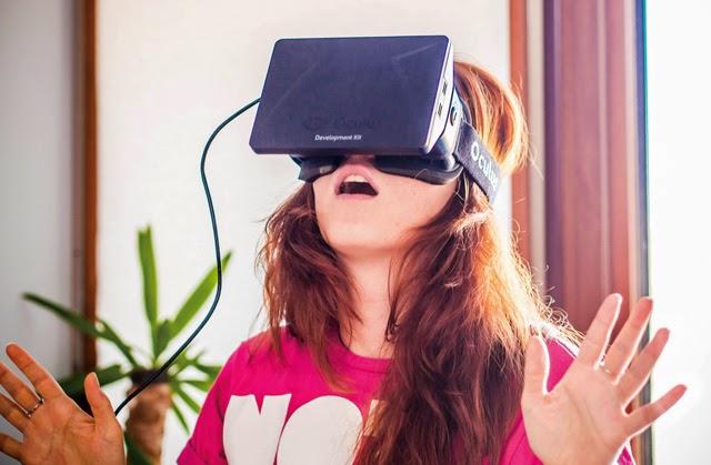 頭戴顯示器掀起虛擬實境熱潮