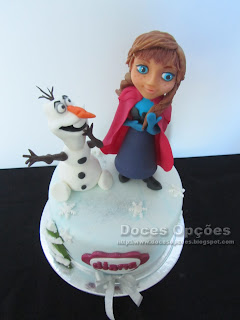cake disney frozen anna olaf