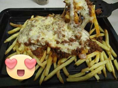 Resepi Loaded Fries Versi Omputeh (SbS)