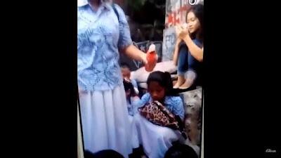 pelecehan seksual siswi yunior oleh siswi senior di SMA 3 Jakarta