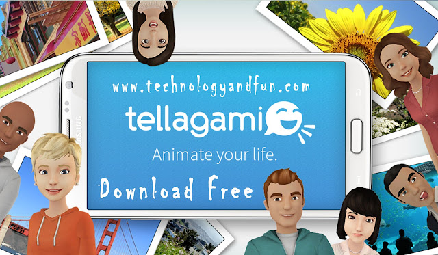 Tellagami  Android Application Free Download
