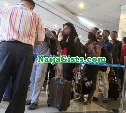 nigerian students deported phillipines
