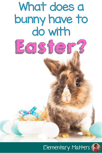 What does a bunny have to do with Easter? Did you ever wonder this? Here's the answer, and several book suggestions for the occasion!