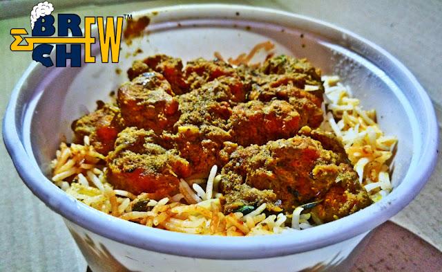 Readybowl Biryani Veg, non-veg starters review