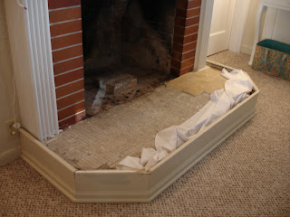 DIY Fireplace Mantel and Hearth Makeover. Beef Up & Enlarge a Skimpy Mantel Shelf