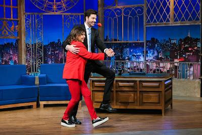 Roberta dança tango com Danilo (Crédito: Bruno Correa/SBT)