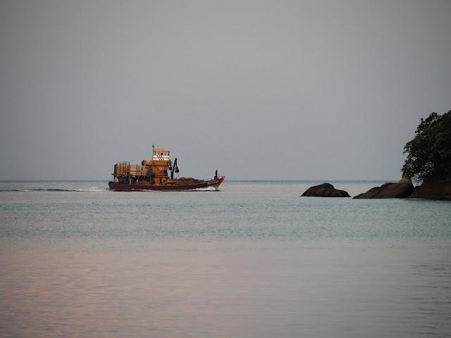 Fischerboot Pangkor