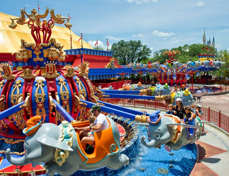 Rides in magic Kingdom Park
