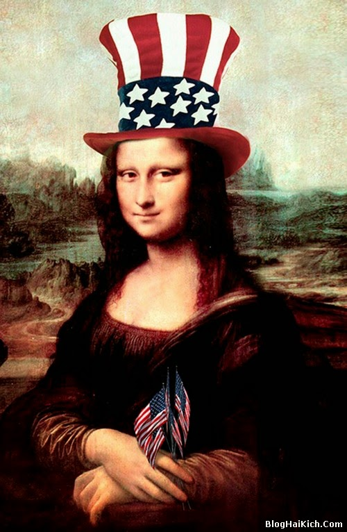 ảnh chế nàng Mona Lisa - Tranh 6