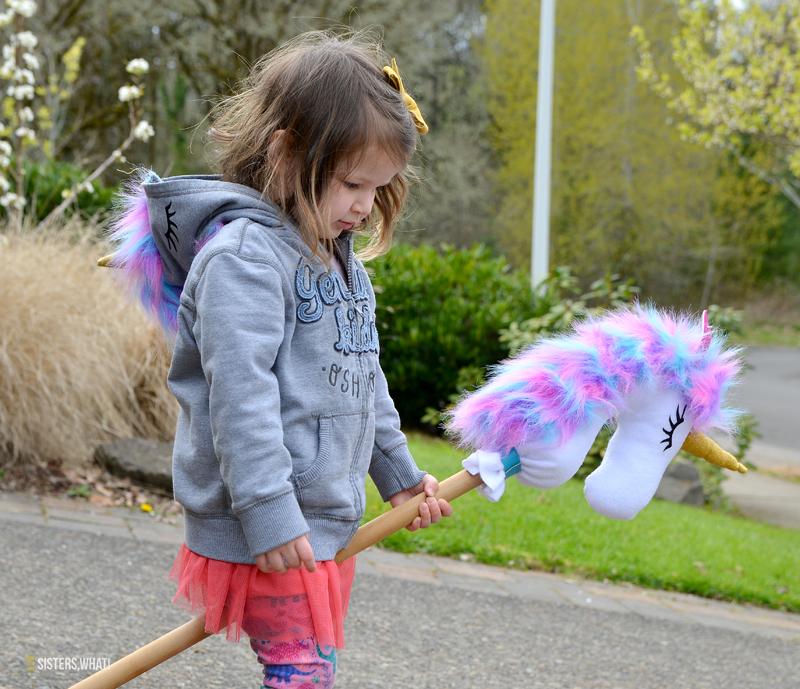 DIY stick unicorn toy tutorial