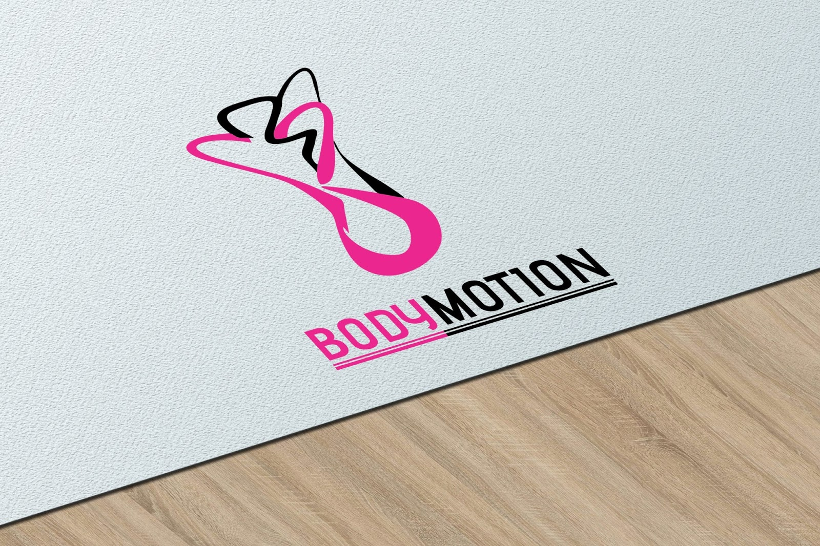 Body Motion Logo Idea Download Free CDR File