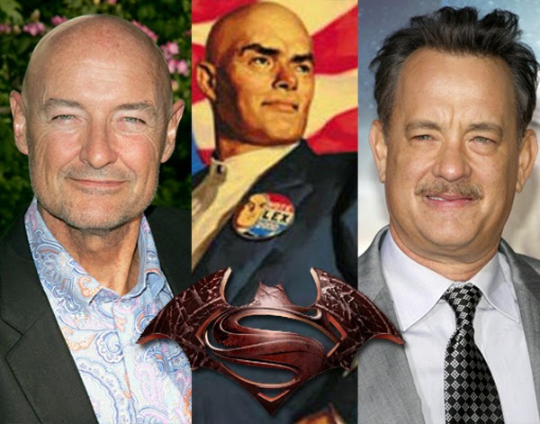 Batman vs Superman: ¿Terry O'Quinn y Tom Hank candidatos a Lex Luthor?