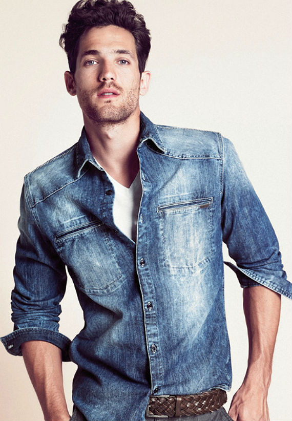Camisa Jeans Azul Médio - cea