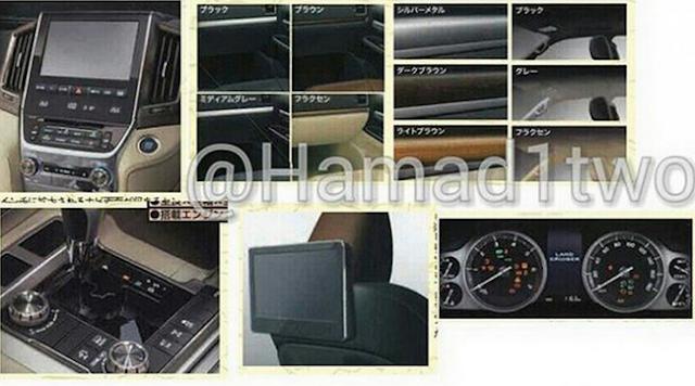 Land Cruiser được trang bị nhiều trang thiết bị hiện đại