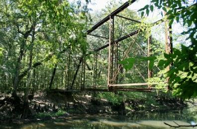 The haunted Bellamy Bridge near Marianna, Florida said to be haunted by the ghost of a bride