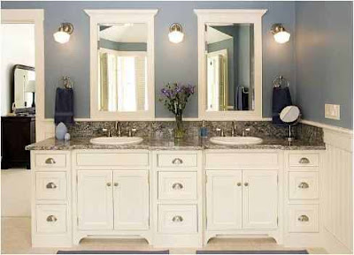 Bathroom Color Ideas With White Cabinets