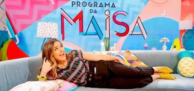 Maisa Silva em seu programa no SBT: Globo escala música brega após perder no Ibope em Recife