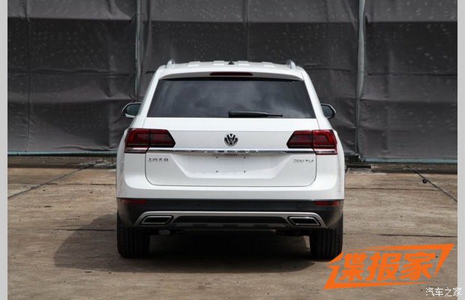 New Volkswagen Teramont Full Size Crossover Is Like The