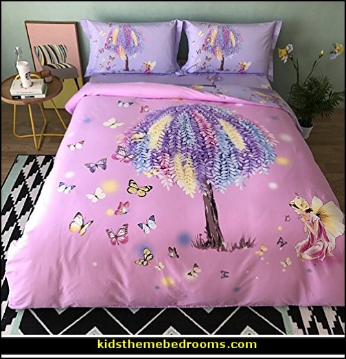fairy bedroom ideas - fairy fantasy theme - enchanted forest fairy decorating -fairy murals - fairy forest bedrooms - fairy woodland bedroom ideas - fairy bedroom decorating ideas - fairy bedroom decor - fairy wall decals