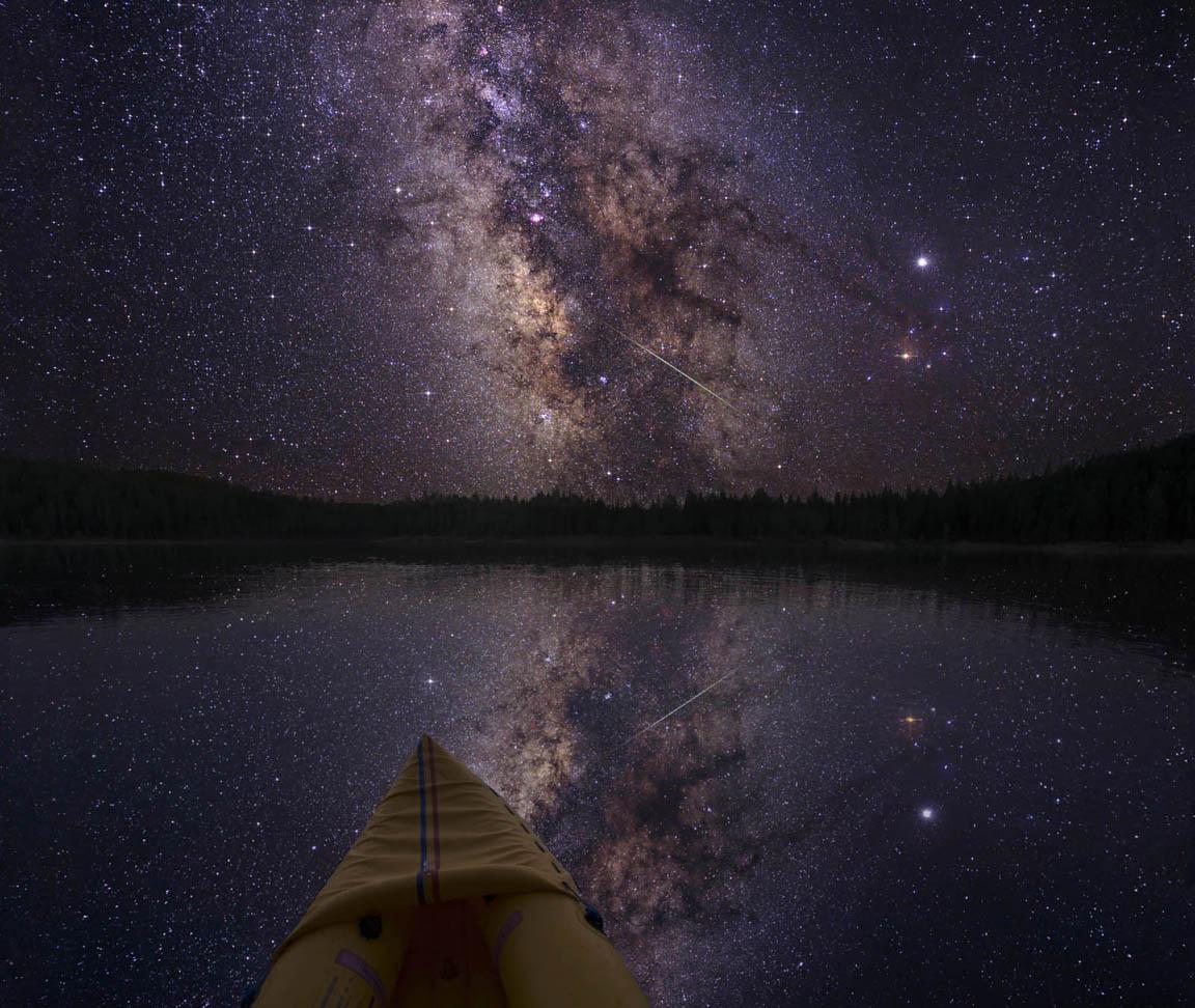denser in middle night sky milky way galaxy - photo #14
