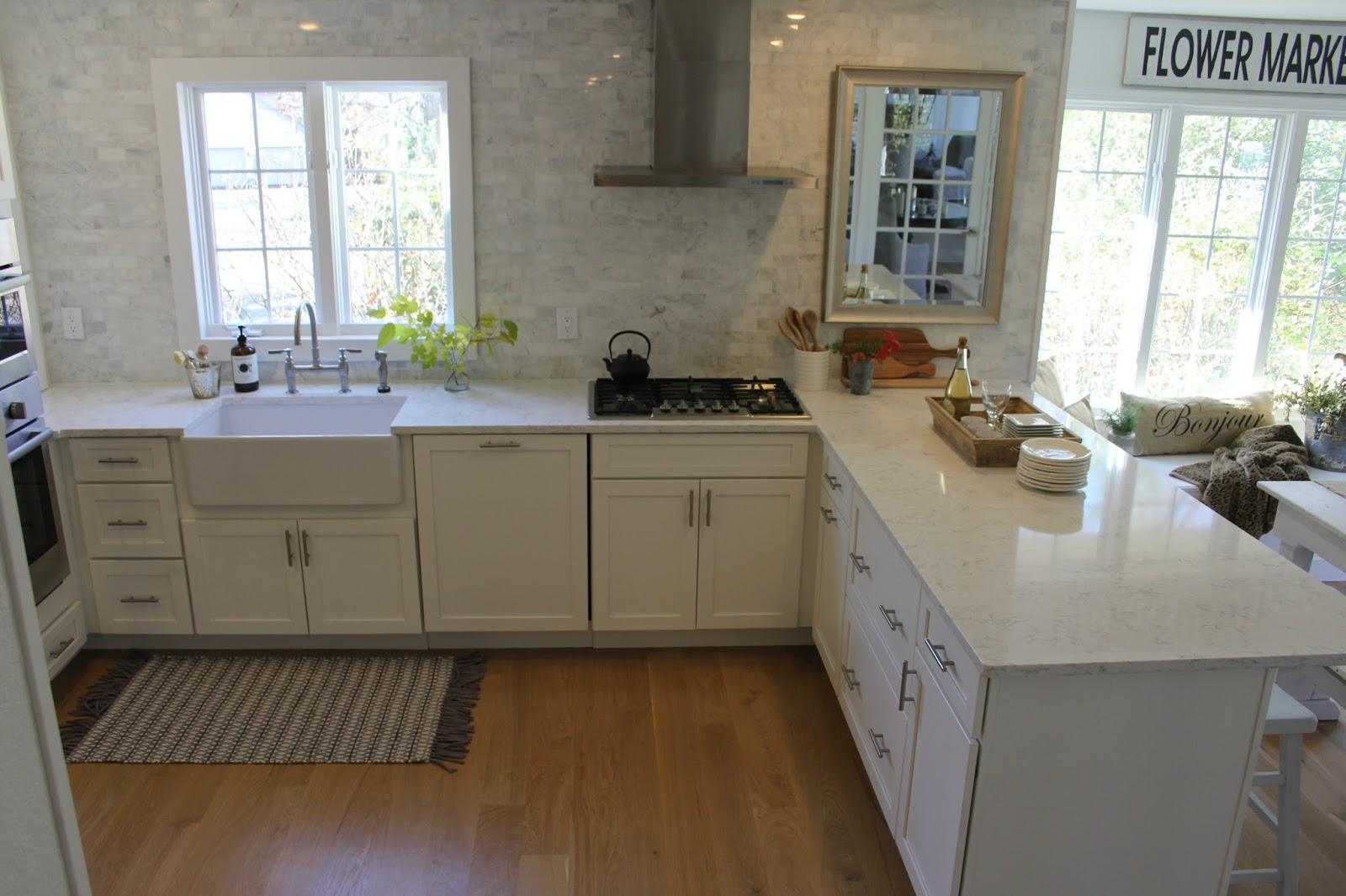 Hello Lovely White Shaker Kitchen Minuet Quartz Tranquil Timeless ...