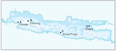 Soal IPS Kelas 5 Bab 3 Semester 1 - Kenampakan Wilayah dan Pembagian Waktu di Indonesia
