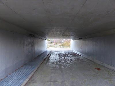 打上川治水緑地 トンネル