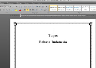Paper Asal Mula Bahasa Indonesia