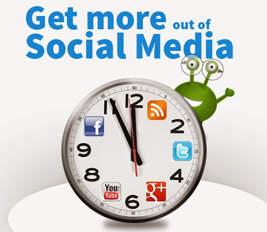 Social Media Time Hacks - How to save time when using Social Media
