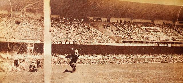 Brasil y Chile en Copa O'Higgins 1955, partido de ida