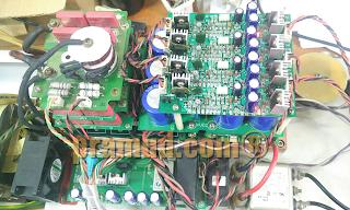 proses servis memperbaiki proking HF-2500, HF2500, HF2500W indonesia
