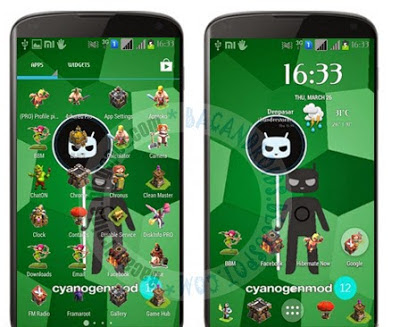 Icon Pack Tema Clash Of Clans(COC) For Android Terbaru