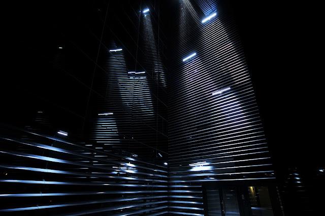 building night light shade dark