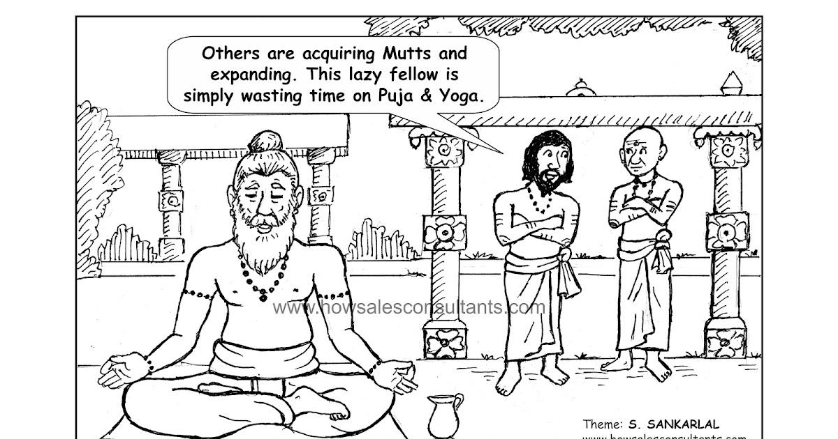 Sankarlal's Cartoons: Leadership