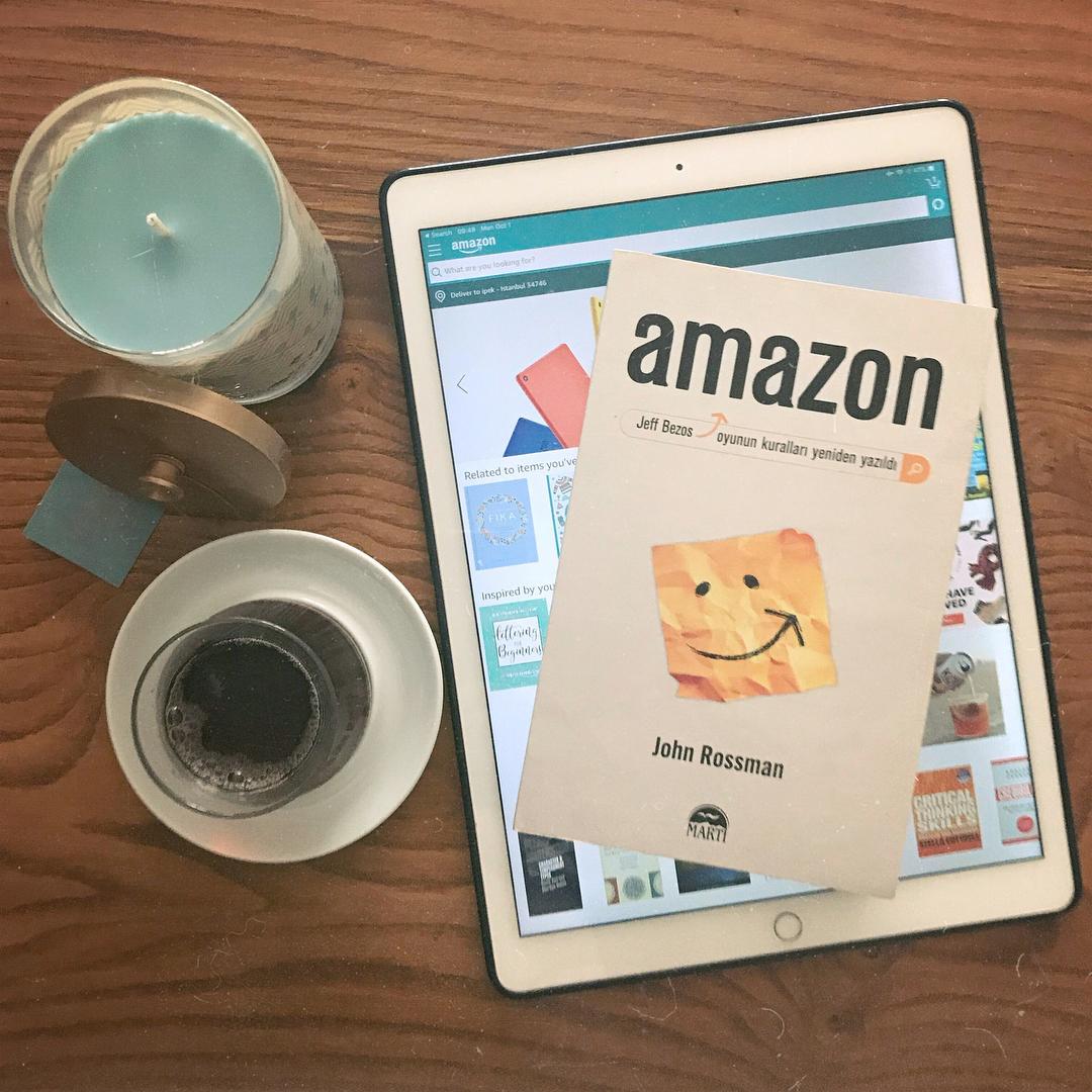 Amazon - Jeff Bezos Oyunun Kurallari Yeniden Yazildi (Kitap)