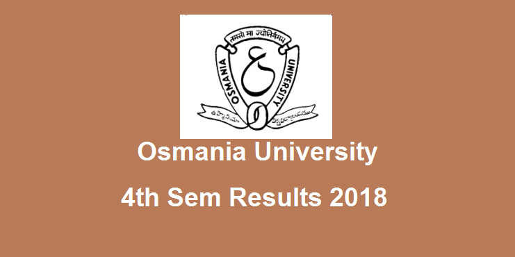 Manabadi OU Degree 4th Sem Results 2019