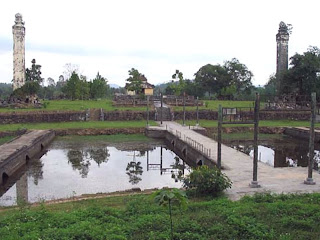 Imperial Tomb of Emperor Thieu Tri in Hue - Vietnam