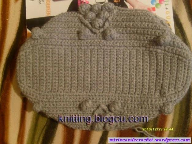 Detalle de bolso a crochet