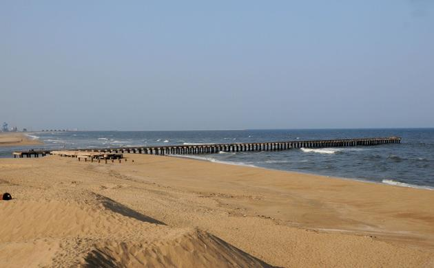 hd images of Marina Beach chennai