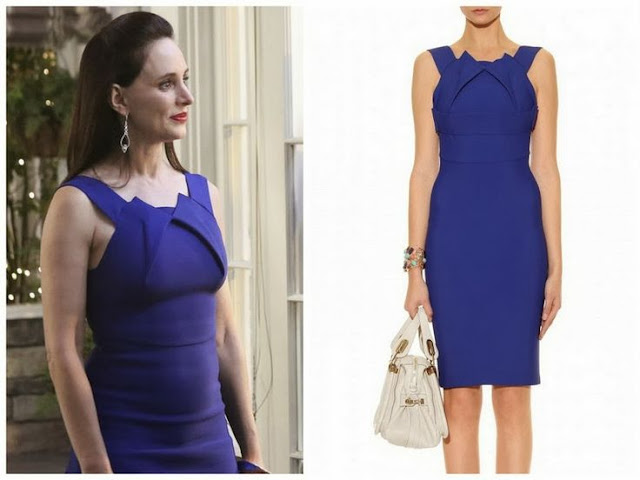 Madeleine Stowe in Roland Mouret - Seen on 'Revenge'