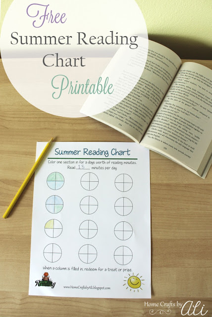 reading chart kids printable